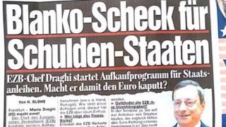 Bild front page headline
