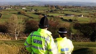 Derbyshire police officers