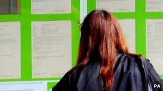 Female jobseeker
