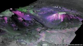 Nili Fossae region of Mars