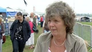 Diane Williams, secretary of the show