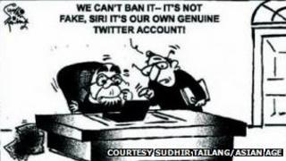 Sudhir Tailang cartoon