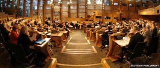 Holyrood chamber