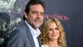 Jeffrey Dean Morgan and Kyra Sedgwick, stars of The Possession