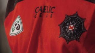 PSNI gaelic top