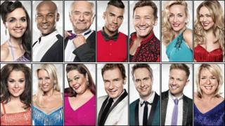 Strictly Come Dancing's 2012 contestants