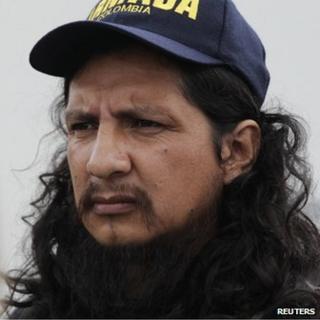 Former ELN hostage Orlando Ibarra