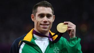 Jason Smyth winning gold at the Paralympics