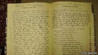 World War II diary of Donald Grist