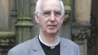 Bishop-elect Peter Brignall
