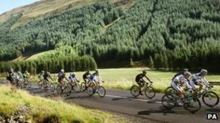 Grey Mare's Tail on Tour of Britain
