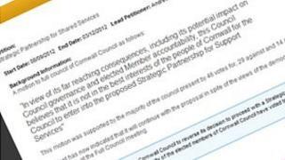 Anti-privatisation petition