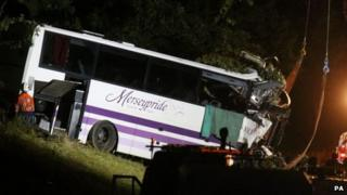 The coach being removed