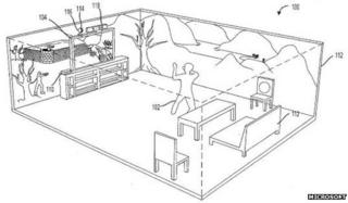 Microsoft patent diagram