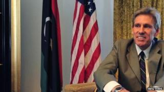 US Ambassador to Libya J Christopher Stevens in June 2012
