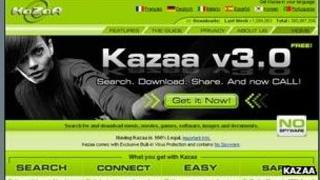 Kazaa screenshot