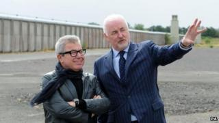 Daniel Libeskind and Terence Brannigan