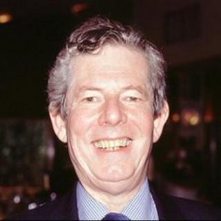 Veteran broadcaster Derek Jameson