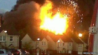 Armadale fire Pic: Nicole Bond