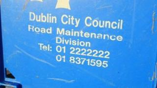 Dublin City Council sign