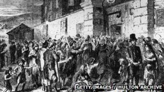 Image of Irish potato famine