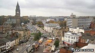 Rochdale town centre
