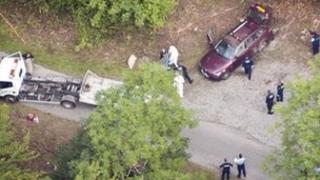Police at scene of shooting near Chevaline