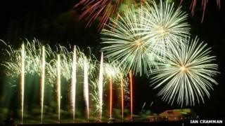 World Fireworks Championships in Blackpool
