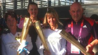 Pam Evans, Karen O'Donoghue-Harris and Eric Whitlock