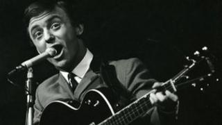Gerry Marsden of Gerry and the Pacemakers