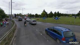 Abbeywood roundabout