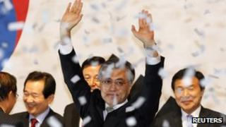 Moon Jae-in, 16 Septer 2012