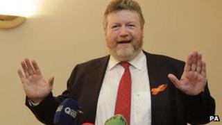Health Minister James Reilly was criticised for introducing a separate cut of 130m euros