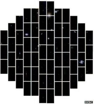 Dark Energy Camera first image