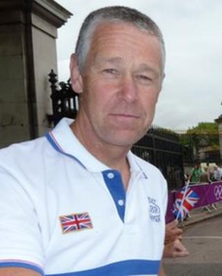Graham Hughes at the London 2012 Olympic Games