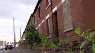 Houses in the Village area of south Belfast have been vested