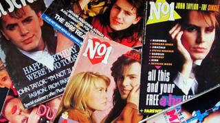 John Taylor on 1980s magazine covers
