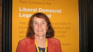 Lib Dem activist Theresa Higgins