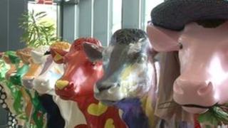Guernsey Cow Parade