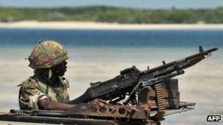 Kenyan soldier (file photo)