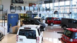 John Clark Motor Group showroom