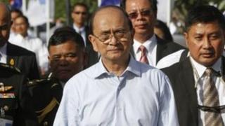 File photo: Burma's President Thein Sein, 22 July 2012
