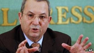 Ehud Barak (file)