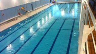 Magherafelt swimming pool at Greenvale Leisure Centre