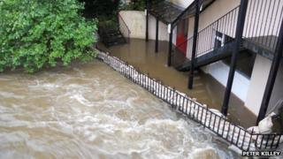 Quarterbridge flooded