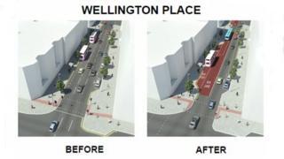 Wellington Place artists impression