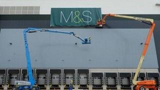 Marks & Spencer depot