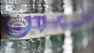 Highland Spring bottling line