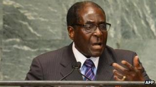 Robert Mugabe (Sept 2012)