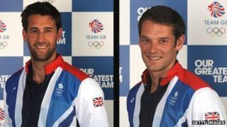 Tom James and Chris Bartley